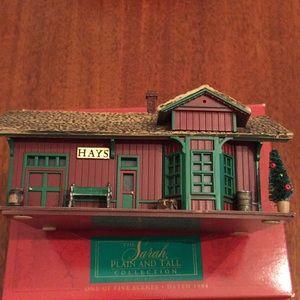 Hallmark Sarah Plain & Tall Hays Train Station '94